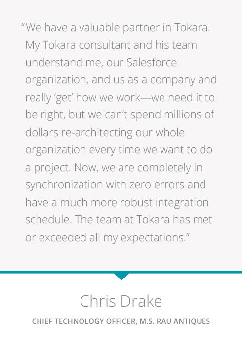 Client Testimonial for Salesforce Integration