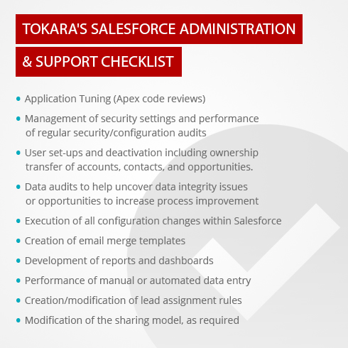 Tokara's RAM Solutions Facilitate Administration and Support Functions