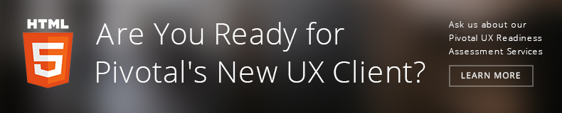 Pivotal UX Readiness Assessment