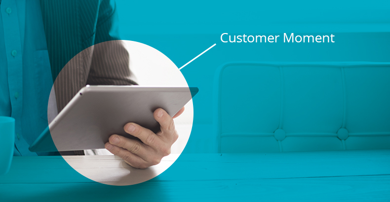 CRM Customer Moment