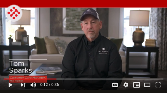 customer care on homebuilder crm video